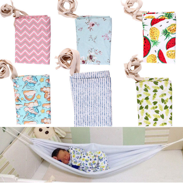 2018 hamaca de bebé portátil de moda cama de bebé recién nacido elástico desmontable cuna segura