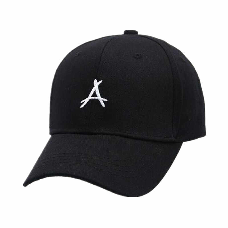 3c4baa90437 2018 New Embroidery Letter Baseball Cap Snapback Hat Hip Hop Men s Ladies 3  Color Pink Black