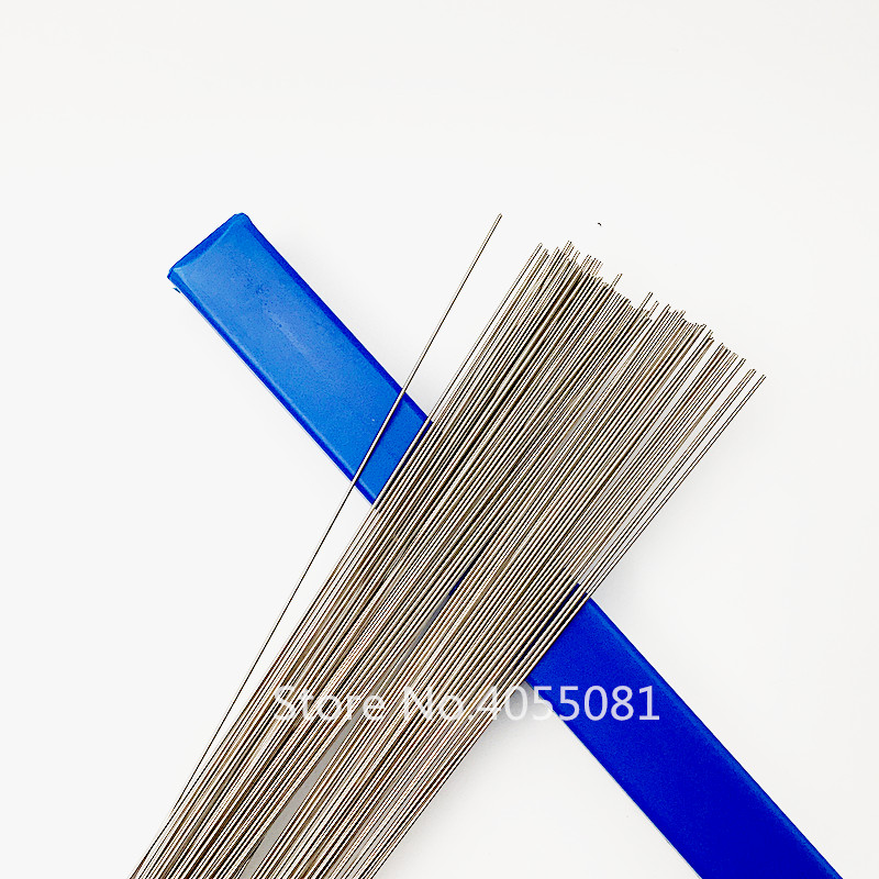 Stainless Steel Metal Welding Rod Argon Arc Welding Wire 1.0mm Stainless Steel Welding 40pcs