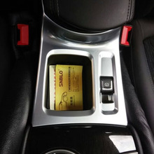 Left-driving China Manufacture ABS Chrome Electronic Handbrake For Buick Verano 2015 Car Accessories