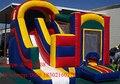 2016 ПВХ коммерческих надувной батут слайд с высоким качеством/надувные прыжки вышибала комбо для детей