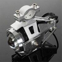 2Pcs Waterproof Motorcycle U5 LED Headlight Spot Driving Fog Light White Lamp With Pit Bike Kill
