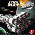 2017 Nueva LEPIN 05046 1748 Unids Estrella Guerra Tantive IV Rebel Blockade Runner Modelo Kit Mini Bloques de Construcción de Ladrillo de Juguete de Regalo 10019