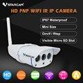 Vstarcam c7816wip memoria impermeable 720 p hd wireless ir-cut wifi webcam cctv cámara ip al aire libre y el apoyo 64g tarjeta de tf