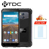 Ulefone Armor X Waterproof IP68 Mobile Phone 2GB RAM 16GB ROM Android 8.1 MTK6739 18:9 5.5''HD Quad Core Wireless Charge Face ID