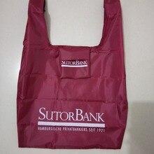 Складная хозяйственная сумка с логотипом, эко-сумка, удобная сумка для хранения продуктов, многоразовая сумка с логотипом на заказ
