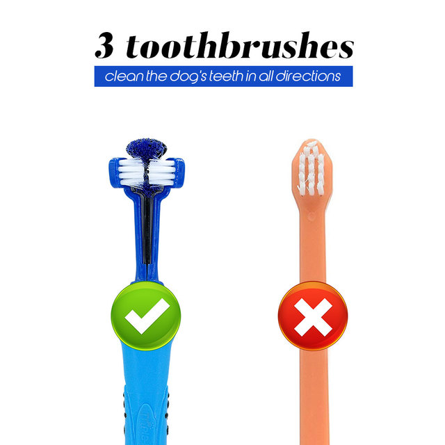 Three Sided Rubber Tooth Brush 4