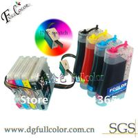 Free Shipping CISS Continuous Ink System With Color Ink for DCP J125 Printer