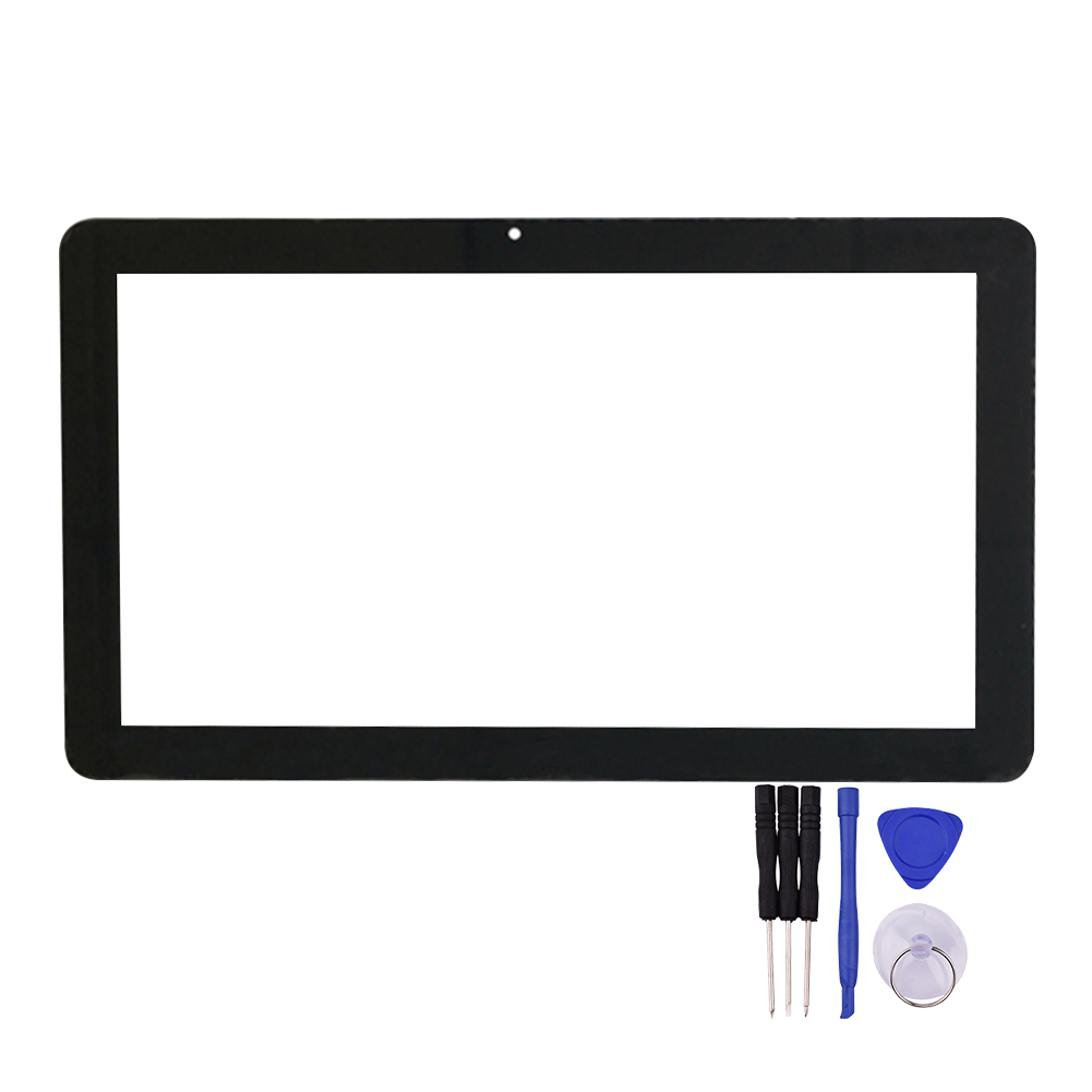 10.6 inch Touch Screen 106005C-B-02 For i7 Stylus Tablet PC Glass Panel Digitizer Sensor Replacement + Free Repair Tools 7 85 inch touch screen for roverpad sky 7 85 3g black tablet pc digitizer glass panel with free repair tools