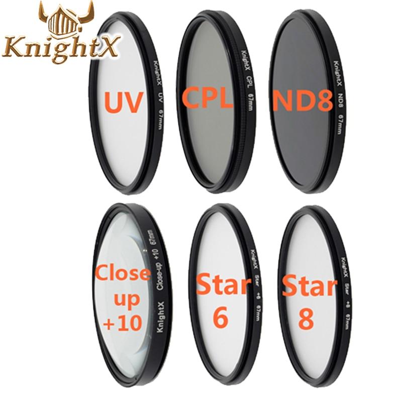 49 52 55 58 67 77 Graduated Color ND Lens Filter Kit set for Canon EOS 1100D 700D 650D 600D 18-55mm Lens SLR Camera 58 MM 301