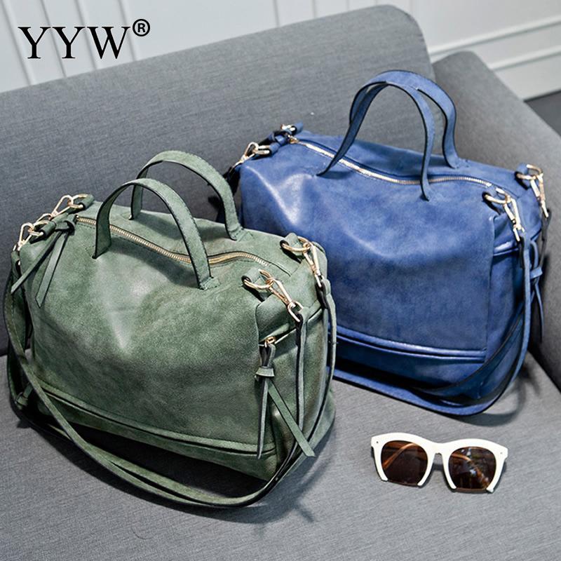 Brand Shoulder Bags for Women PU Leather Handbags Dark Grey Women