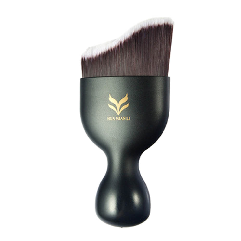 Makeup Brushes Professional Naked Ware Arc S-Shape Liquid Foundation Makeup Brushes Synthetic Fiber Blush Makeup Fondation Brush