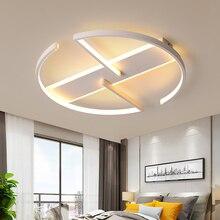 غرفة نوم غرفة المعيشة LED أضواء السقف الحديثة بريق دي plafond الحديثة LED مصباح السقف للأطفال غرفة الدراسة