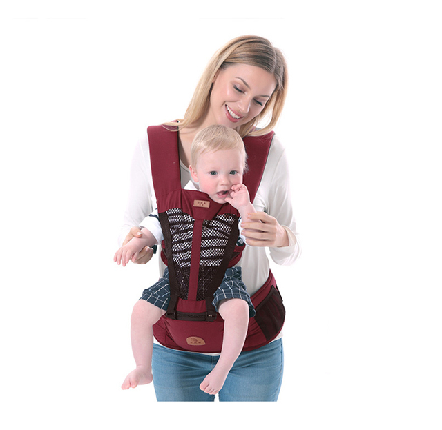 Us 17 52 26 Off New 0 36m Baby Heaps Multifunctional Newborn Baby Carrier Ergonomic Kids Sling Backpack Pouch Wrap Front Facing Kangaroo Hipseat In