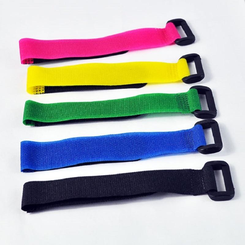 imágenes para 60 unidades 20*270 Correas Lipo Correa Reutilizable Cable Tie Wrap Control Remoto