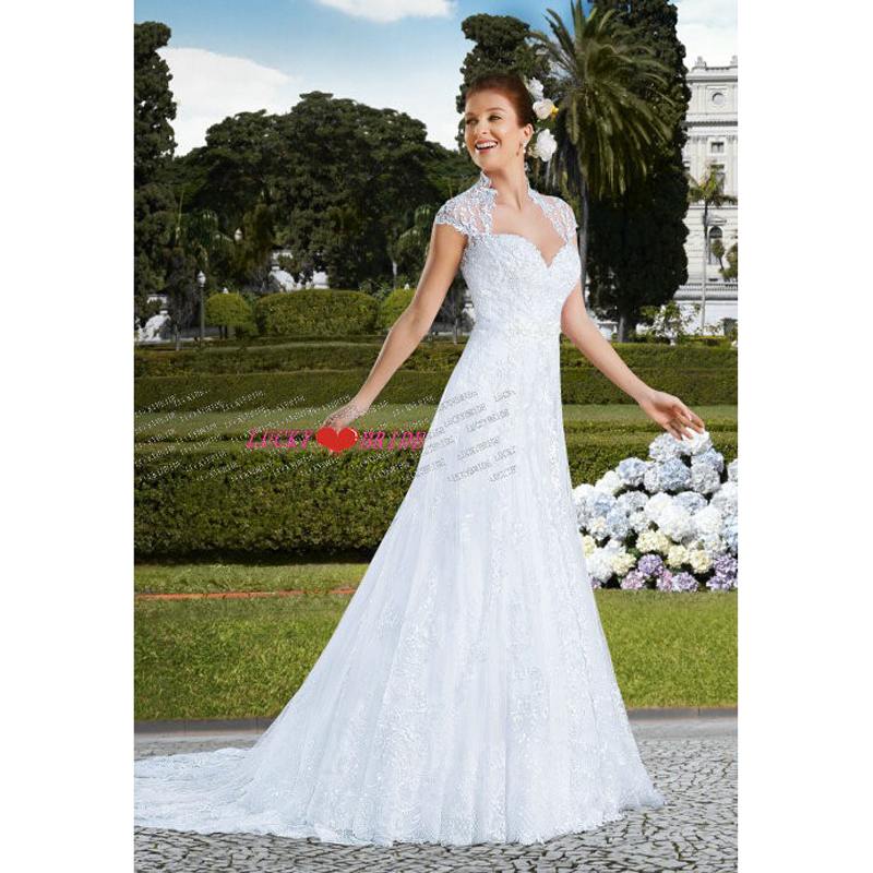 All Lace Wedding Dress: W133 Free Shipping A Line Sweetheart Bridal Gown With