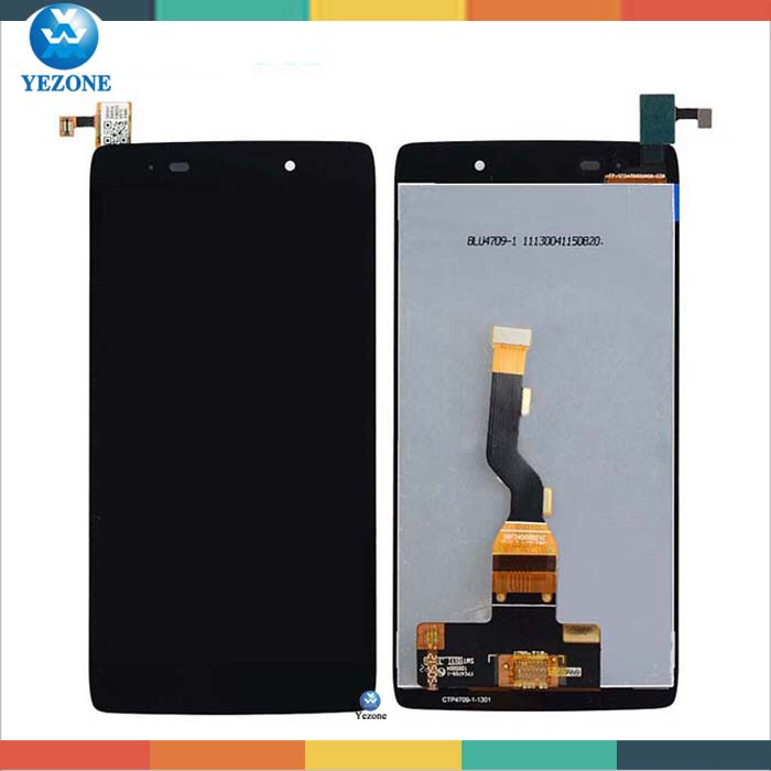 OEM LCD Screen Display Touch Screen Digitizer Assembly Replacement For Alcatel One Touch Idol 2 OT6039 6039 Free Shipping