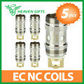 5pcs Original Eleaf EC NC 0.25ohm ijust S Atomizer Head for iJust S/ iJust 2/ iJust 2 mini/Melo/Melo 2/Melo 3/Lemo3 Atomizer 5pc