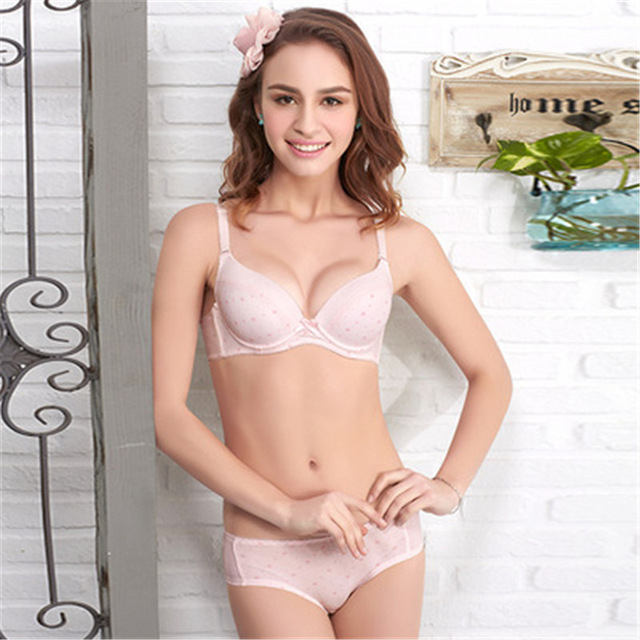 90f51967b5 Teenage Girl Underwear Girls Training Bra+Briefs Young Girl Bra Student Set  Undergarment For Child