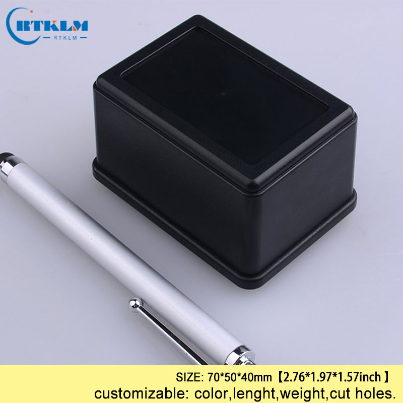 Plastic enclosure IP54 ABS plastic electronics box custom enclosure Diy housing outlet box small project junction box 70*50*40mm image
