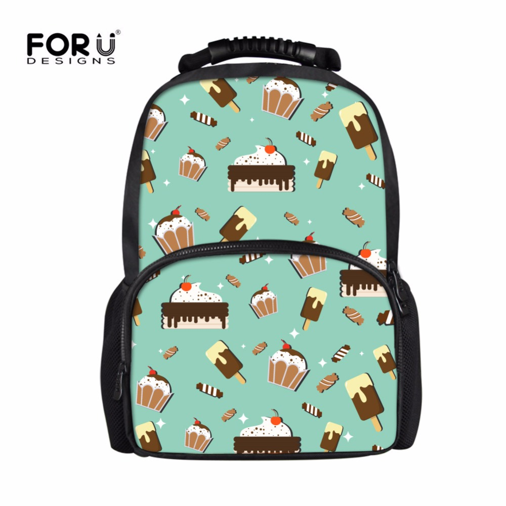 FORUDESIGNS Women Fashion School Backpack Kawaii Schoolbag For Kids Girls Large Shoulder Bag Korean Mochila Escolar Wholesale hot sale 2017 new arrival bag mochila escolar backpack anime kawaii backpack mochila for teenage girls korean school bags