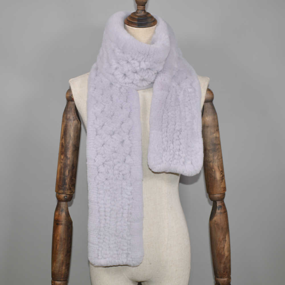 2019 inverno estilo longo das mulheres real rex pele de coelho cachecol rex pele de coelho quente macio anel scarfs alta qualidade malha de pele de coelho cachecóis