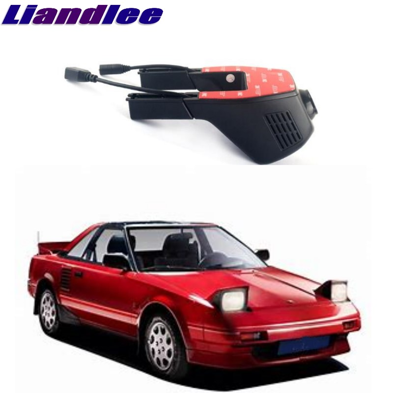 Liandlee For Toyota MR2 W30 1999~2007 Car Black Box WiFi DVR Dash Camera Driving Video Recorder цена
