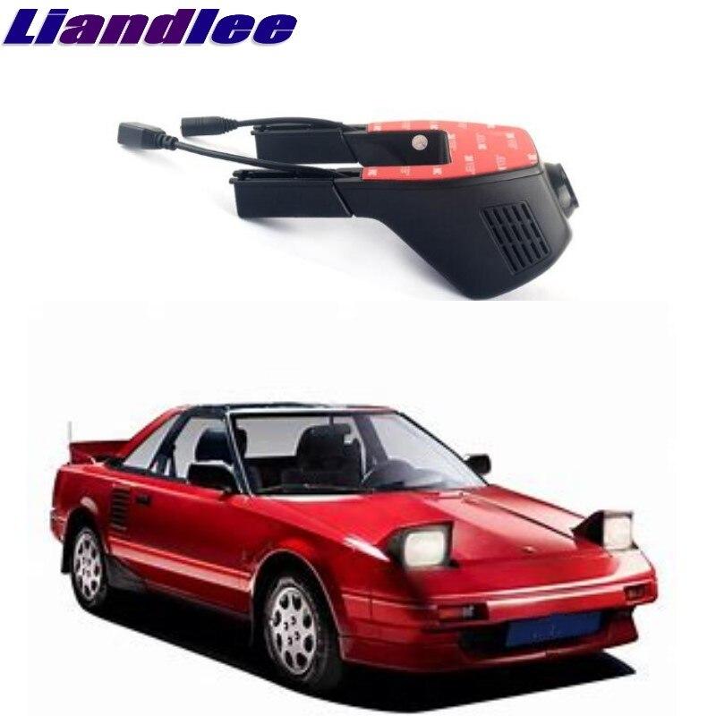 Liandlee pour Toyota MR2 W30 1999 ~ 2007 enregistrement de route de voiture WiFi DVR caméra de tableau de bord enregistreur vidéo de conduite