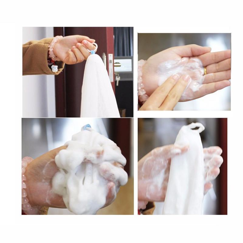 Clean A Bathroom Set 2xexfoliating washcloth nylon soap sponge mesh foaming cleaning