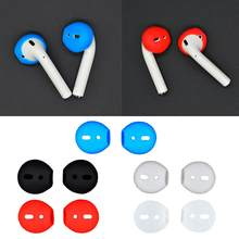 Silicone Ear Tips Earbud New Fashion Soft Anti-Slip for Apple Earpods Replacement Earbuds Tips Best-selling(China)