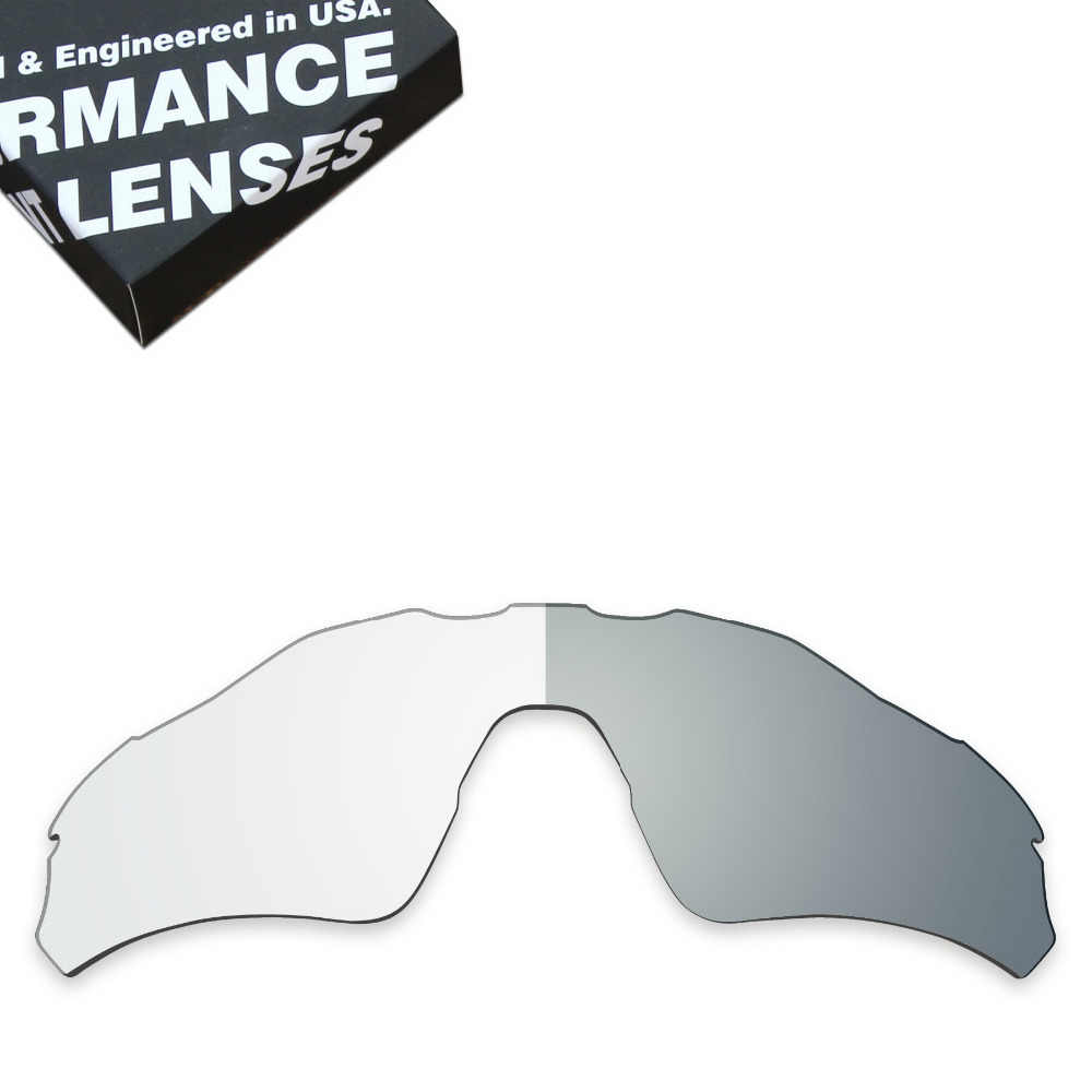 2839a6c683e ToughAsNails Replacement Lenses for Oakley Radar EV Path Sunglasses  Photochromic Clear (Lens Only)
