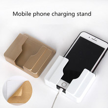 JXSFLYE Universal phone holder wall-mounted mobile charging stand for iPhone xiaomi bracket