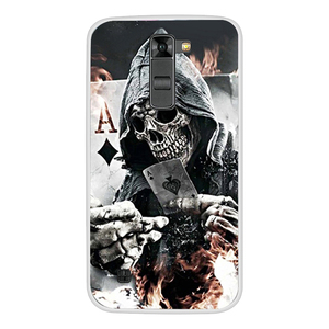 Image 2 - Soft Silicone Cover TPU Case for LG K7/Tribute 5 LS675/X210 X210DS Phone Case Soft Silicone Back Cover Case For LG K7 K 7 Cover