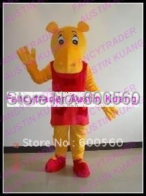 Fancytrader New Arrival The Backyardigans Tasha Hippo Mascot Costume Halloween Fursuit Fancy Dress Halloween FT20246