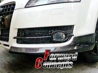 Для углеродного волокна 2007 2010 TT 8J переднего бампера lip разветвители flippers Canards
