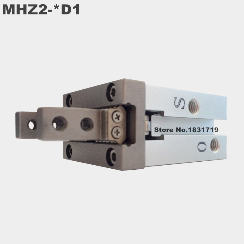 SMC standard type MHZ2-40D1 pneumatic finger cylinder parallel open air claw Single function MHZ2 40D1 mhz2 20d parallel finger cylinder manipulator smc type pneumatic finger cylinder