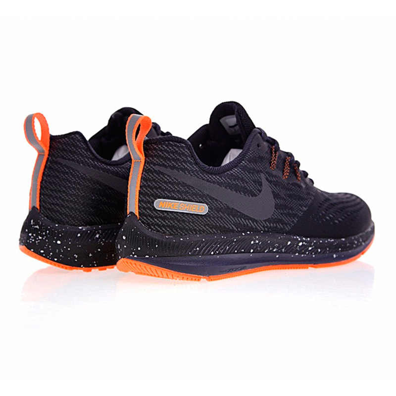 best website 7fbff f6097 NIKE ZOOM WINFLO 4 SHIELD Men's Running Shoes,Original Sports Outdoor  Sneakers Shoes,Black, Breathable 921704-001