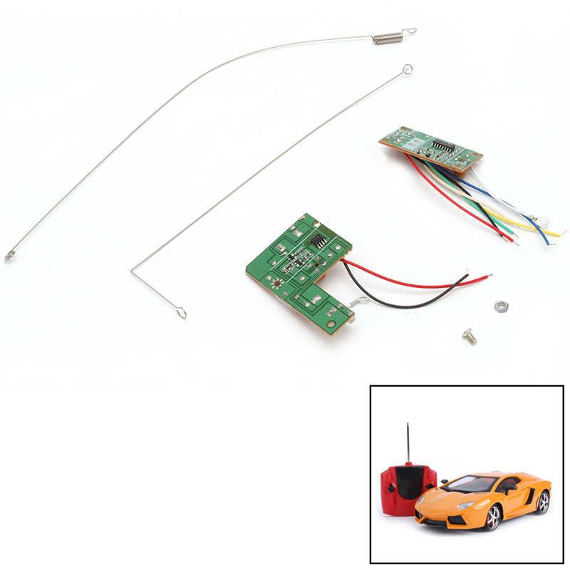 4CH дистанционное управление 27 МГц печатная плата приемопередатчика получает игрушки на радиоуправлении