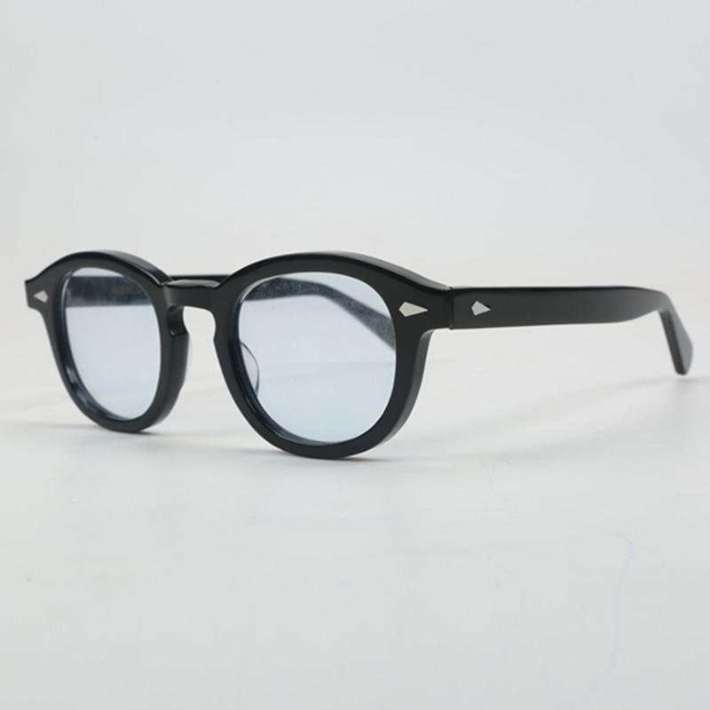 Modo di Johnny Depp Occhiali Da Sole Degli Uomini di Marca di Lusso Del Progettista di Luce Blu Moscot Lemtosh di Stile Occhiali Da Sole Per Uomo UV400 Oculos QF186