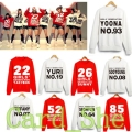 KPOP Girls' Generation Hoody Sweatershirt  Uniform Costume SNSD TaeYeon Yoona brand woman sweatershirts New