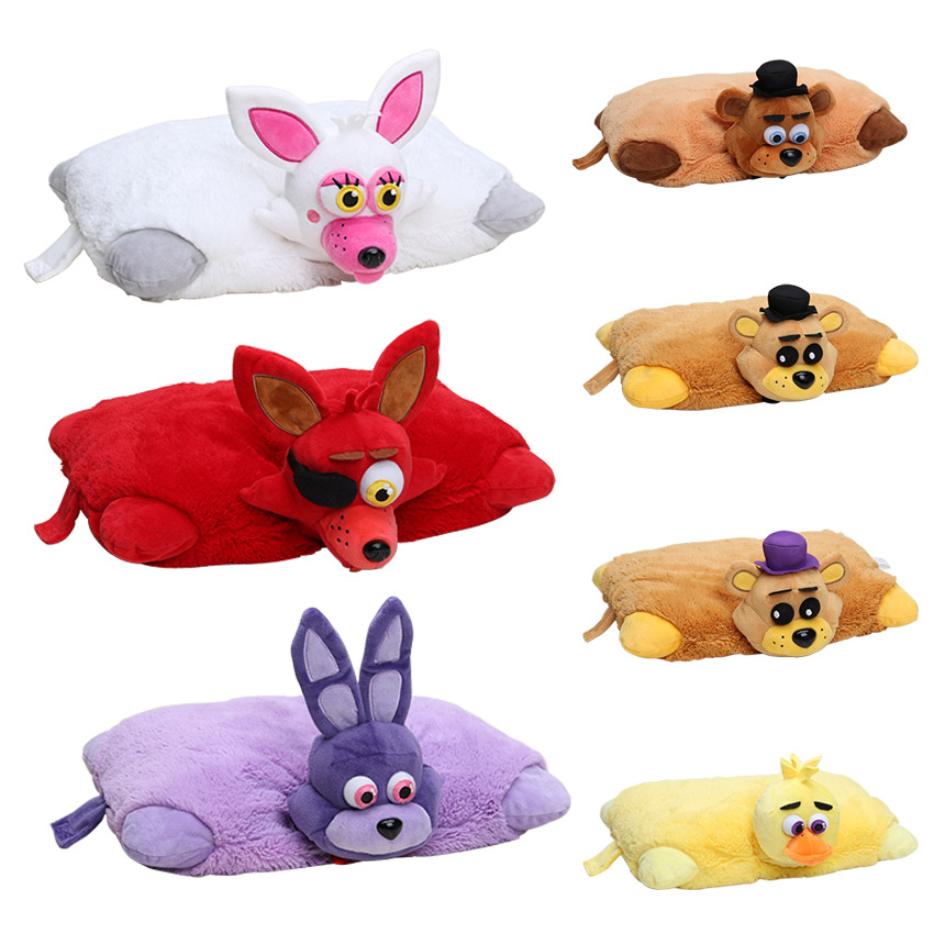 7pcs/set FNAF 43cm*30cm Five Nights At Freddy's Pillow