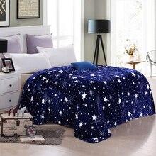 Мода Супер Мягкий коралловый флис одеяла на кровати, 3 Размер для выбора простыня держать теплое одеяло