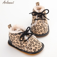 2017 FASHIONBaby Toddler Infant Snow Boots Shoes Rubber Sole Prewalker Crib Shoes