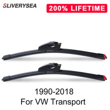 SLIVERYSEA Replace Wiper Blade for Transport 1990-2018 Silicone Rubber Windshield Windscreen Wiper Auto Car Accessories все цены