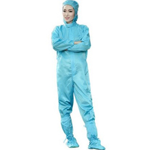FASHION ESD clothes anti-static cleansing garments paint uniform one piece uniform working ware mud free cloting