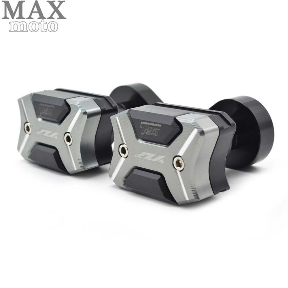Motorcycle Frame Sliders Crash Engine Guard Pad Aluminium Side Shield Protector For Yamaha YZF600 R6 2008 2009 2010 2012-2015 free shipping motorcycle engine cover frame sliders crash protector for honda cbr1000rr 2008 2009 2010 2011 2012
