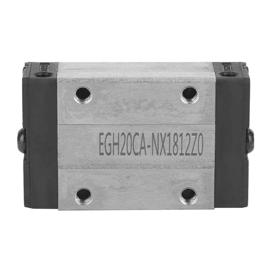נושאות ליניארי 1 pcs EGH20CA מיני תנועה ליניארית מדריך Rail בלוק מחוון נושאות פלדה הזזה בלוקים ליניארי