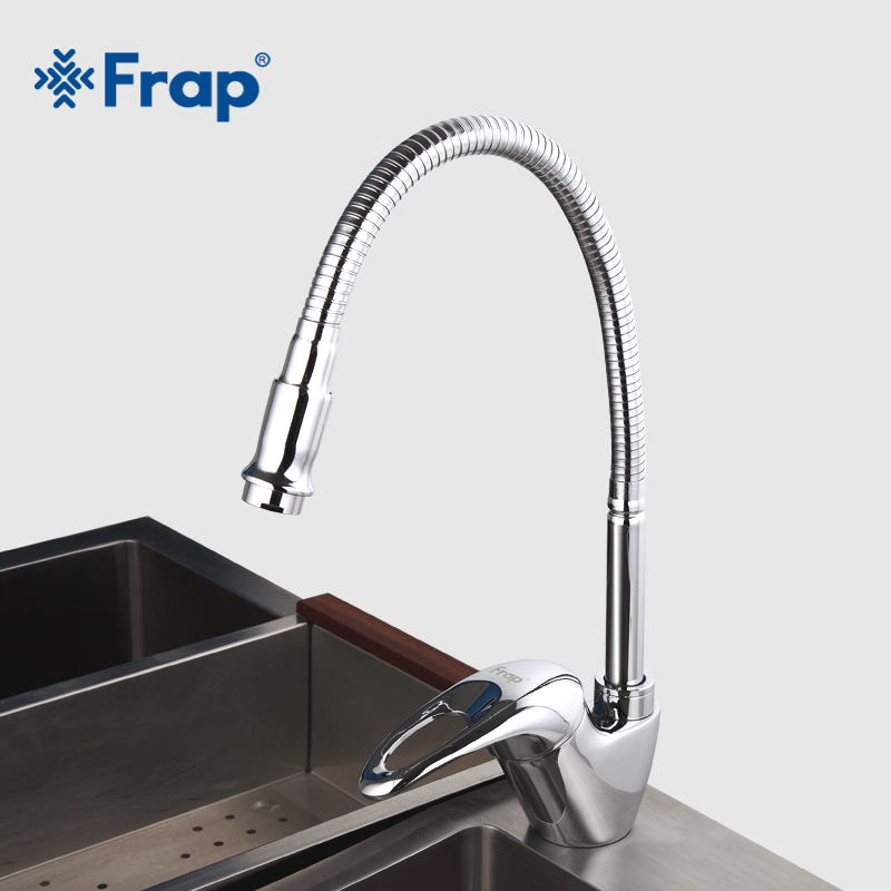 FRAP New Arrival Kitchen Faucet Universal Direction Single Handle Cold and Hot Water Mixer F4303-1 mercedes cla carbon fiber bumper canards front splitter spoiler flip for benz cla class w117 cla45 amg cla180 cla200 cla250 2013