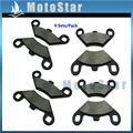 4 Sets Pastillas De Freno Para ATV Polaris 800 Ranger RZR S EFI 2009 2010 2011 2012 2013 2014 2015