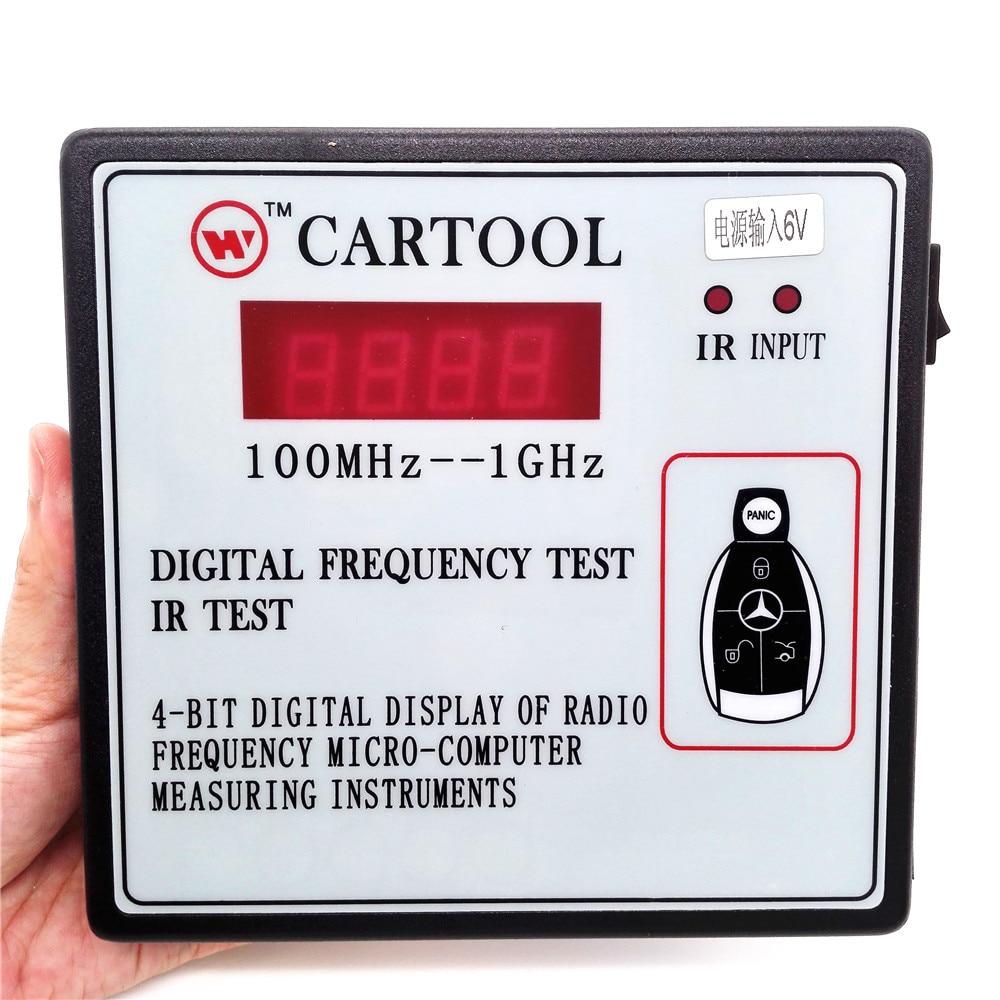 4 Bit Digital Display Of Radio Frequency IR Test Micro Computer Measuring Instruments Car Key Wireless